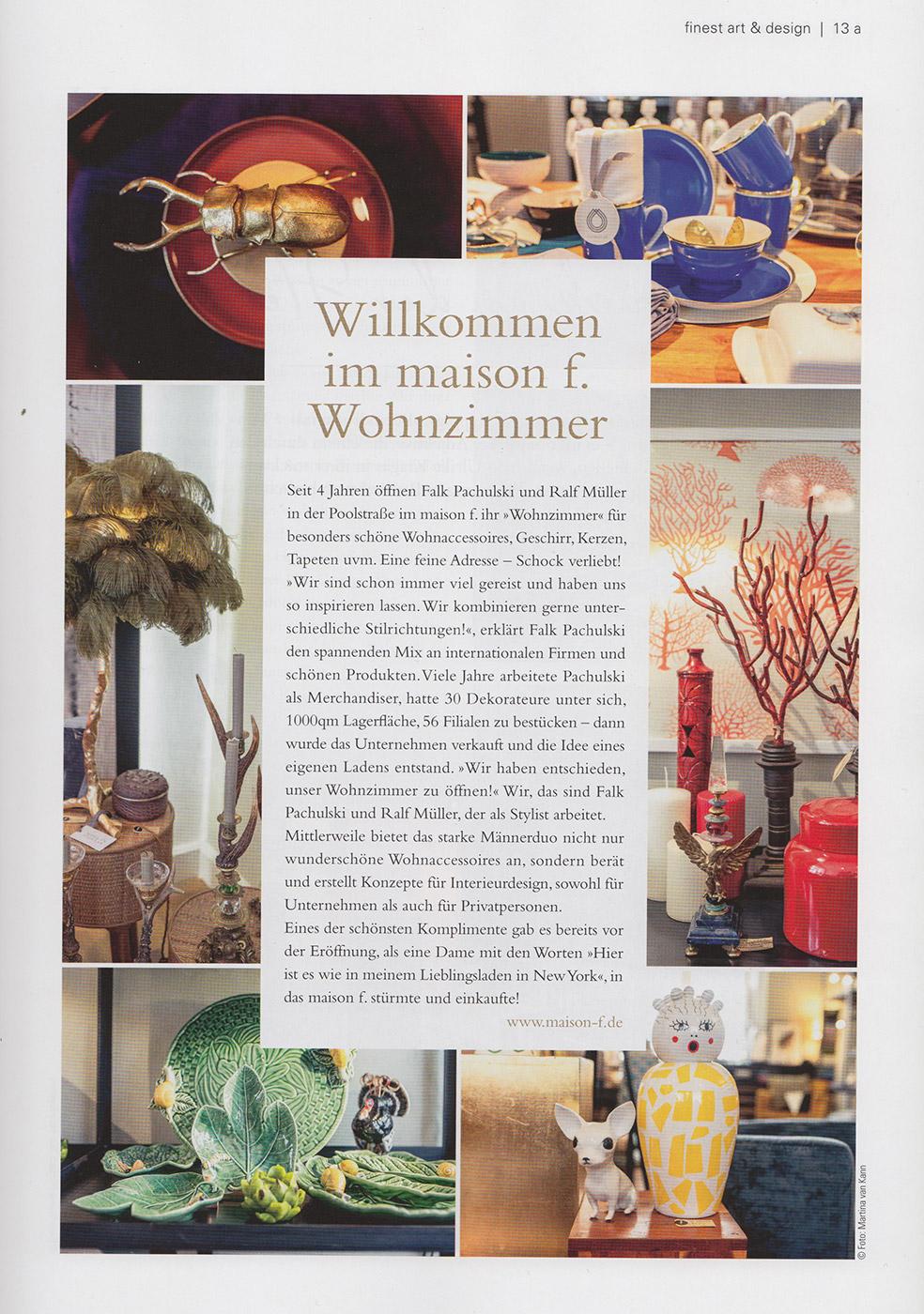 maison f. | CONCEPT & INTÉRIEUR | PRESSE