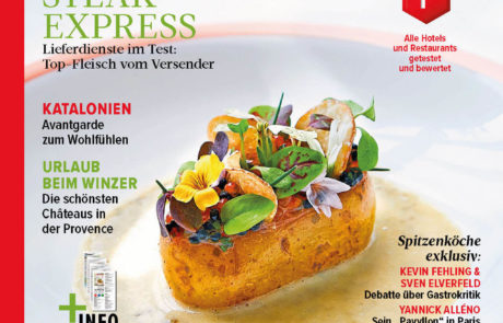 maison f. - feature im Feinschmecker Magazin